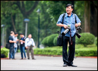 Vietnamese photographer arrives