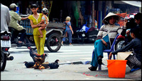 Sellers near Cholon Market HCMC